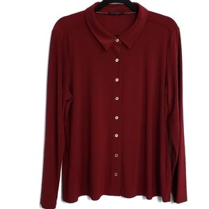 Tommy Hilfiger Button Up Blouse Career Wear